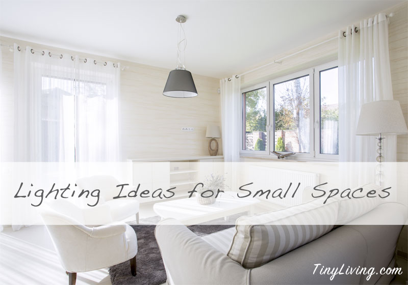 Making the most of light in a small apartment tiny living - Making most of small spaces property ...