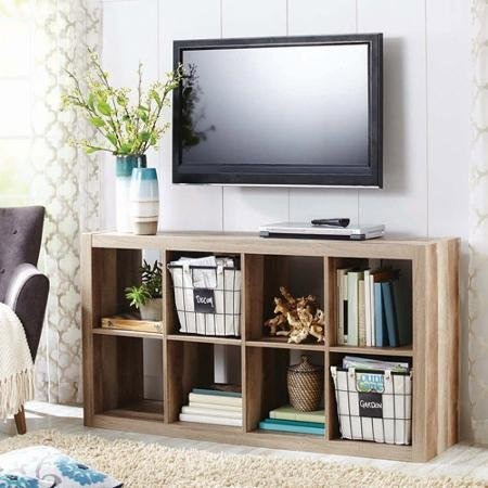 Modern better homes and gardens 8 cube organizer weathered Home garden tv