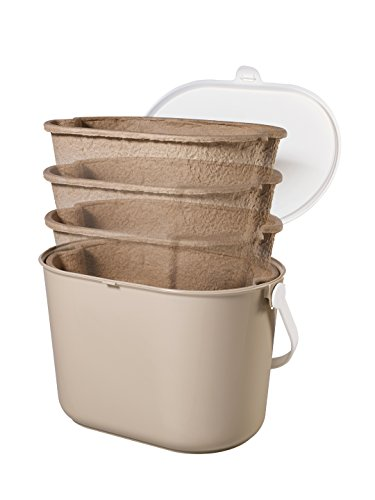 compost bin buddy kitchen compost collector mini bin liner