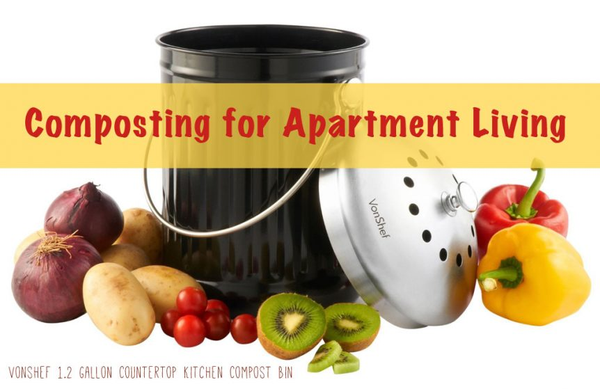 Composting for Apartment Living - Tiny Living