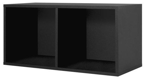 Foremost 327806 modular large divided storage system black for Foremost modular homes