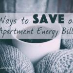Ways to Save on Apartment Energy Bills