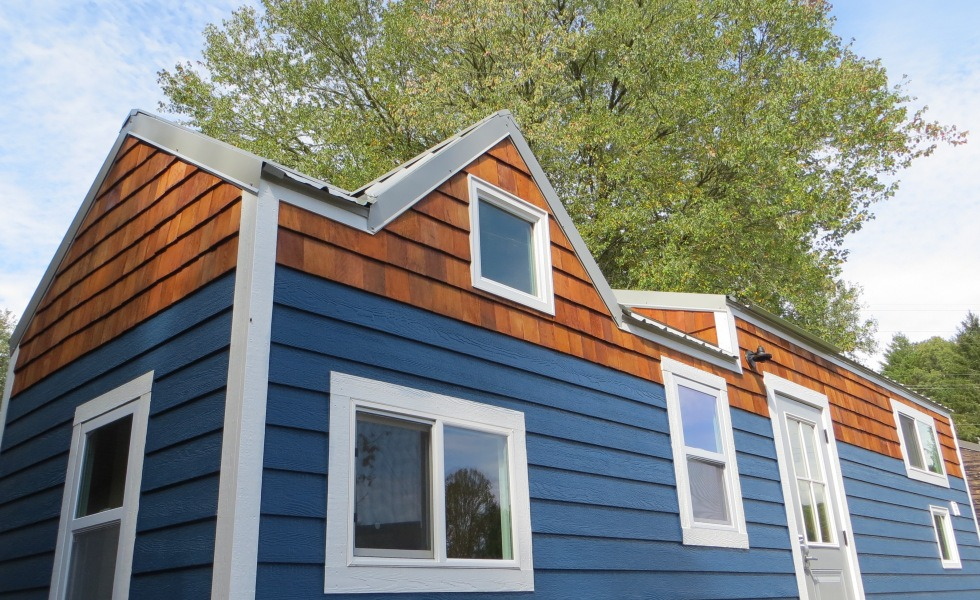 Exterior View - 36° North by Brevard Tiny House