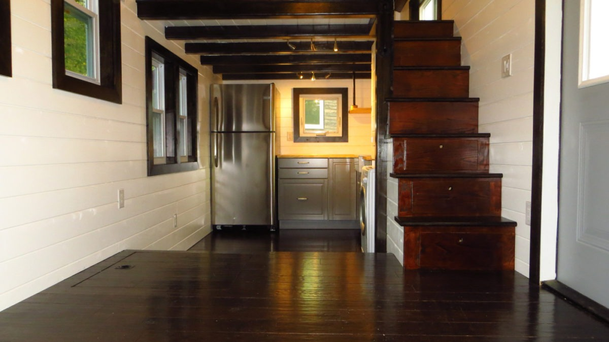 Interior View - 36° North by Brevard Tiny House