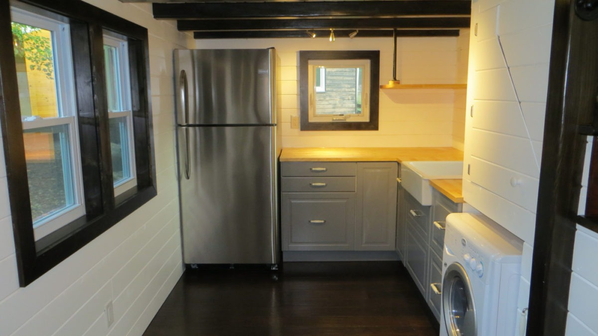 Kitchen - 36° North by Brevard Tiny House