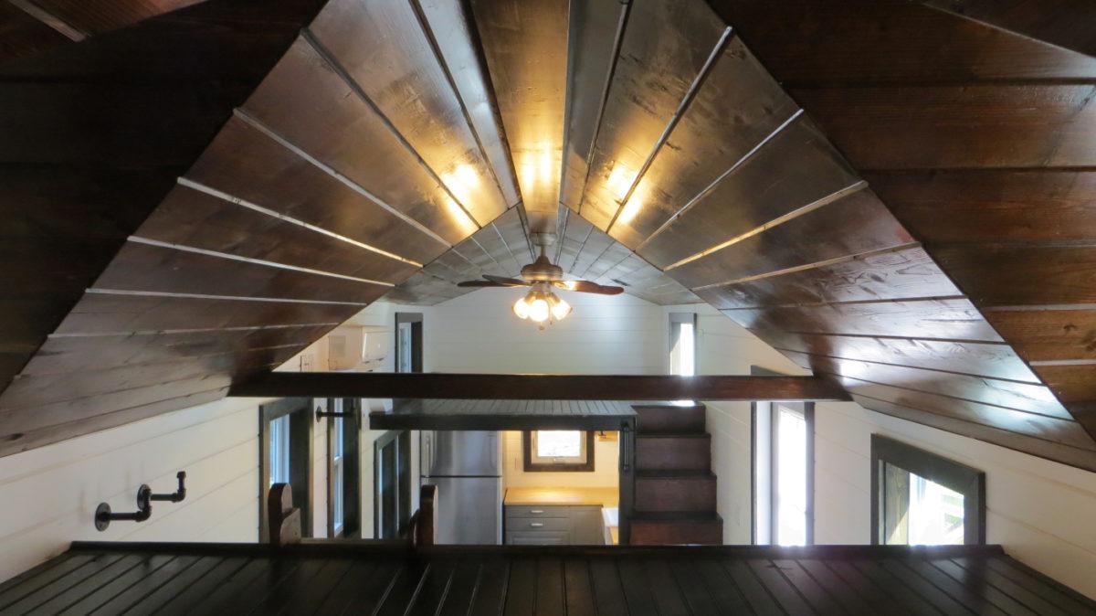 Bedroom Loft - 36° North by Brevard Tiny House