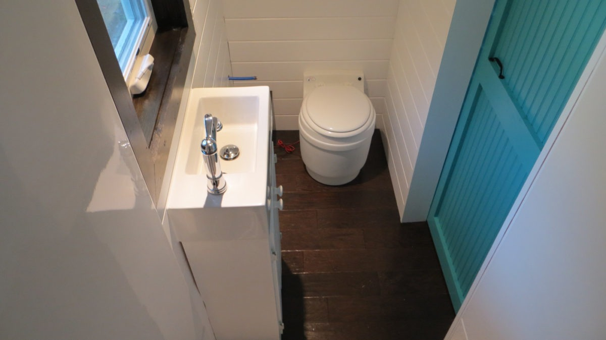 Bathroom - 36° North by Brevard Tiny House