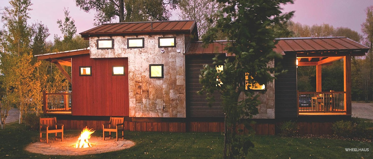 Exterior Side View - Caboose by Wheelhaus