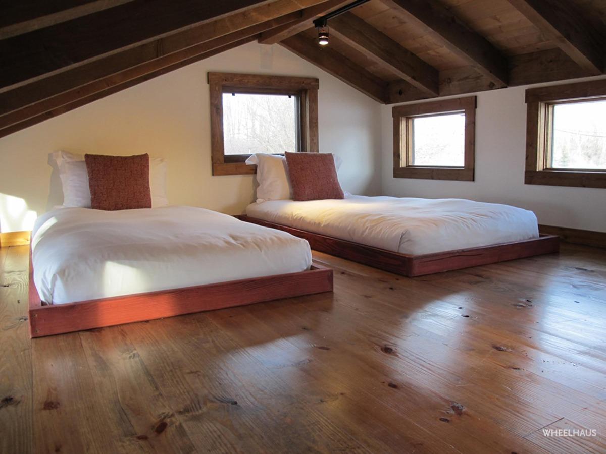 Loft Bedroom - Caboose by Wheelhaus