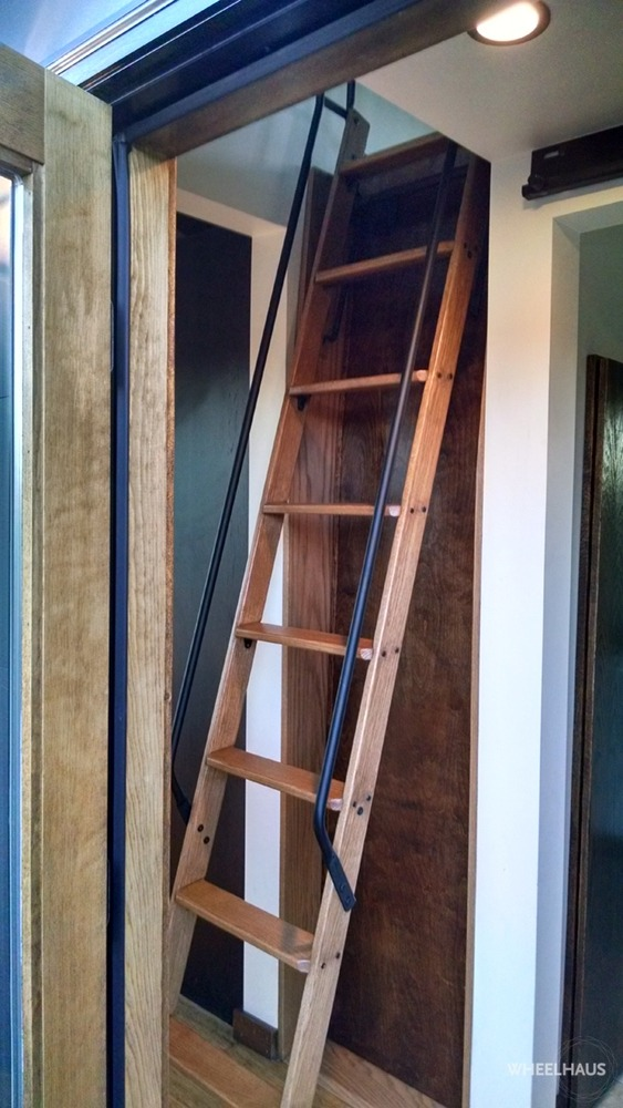 Loft Ladder - Caboose by Wheelhaus