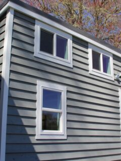 Exterior View - Chickadee by Brevard Tiny House