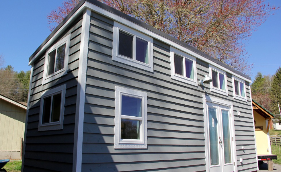 Exterior View - Chickadee by Brevard Tiny House