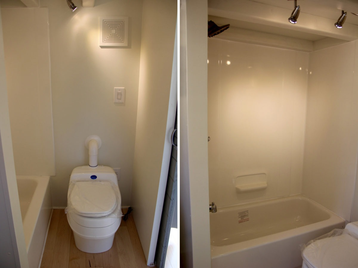 Bathroom - Chickadee by Brevard Tiny House