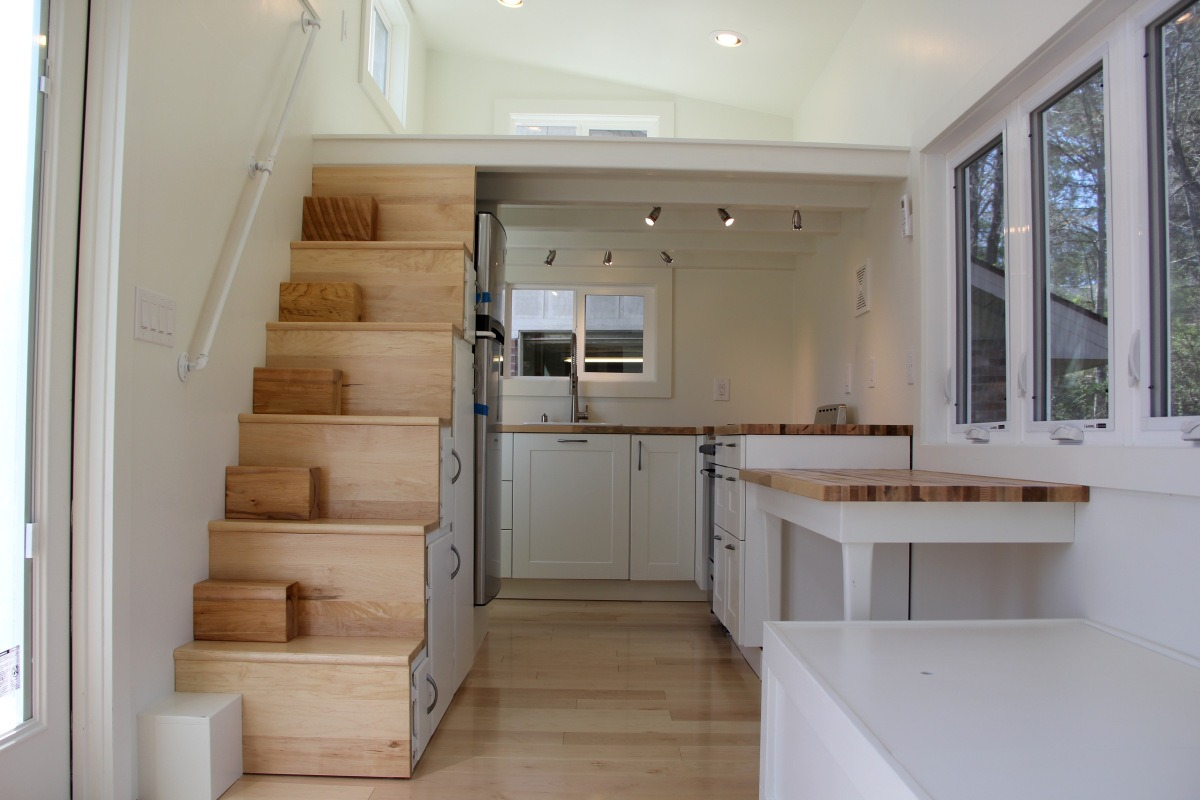 Interior View - Chickadee by Brevard Tiny House