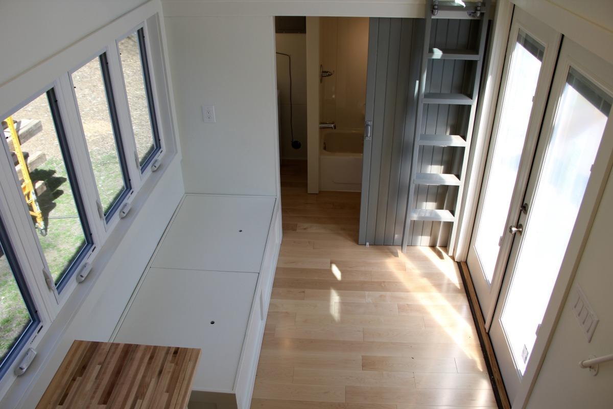 Living Room - Chickadee by Brevard Tiny House