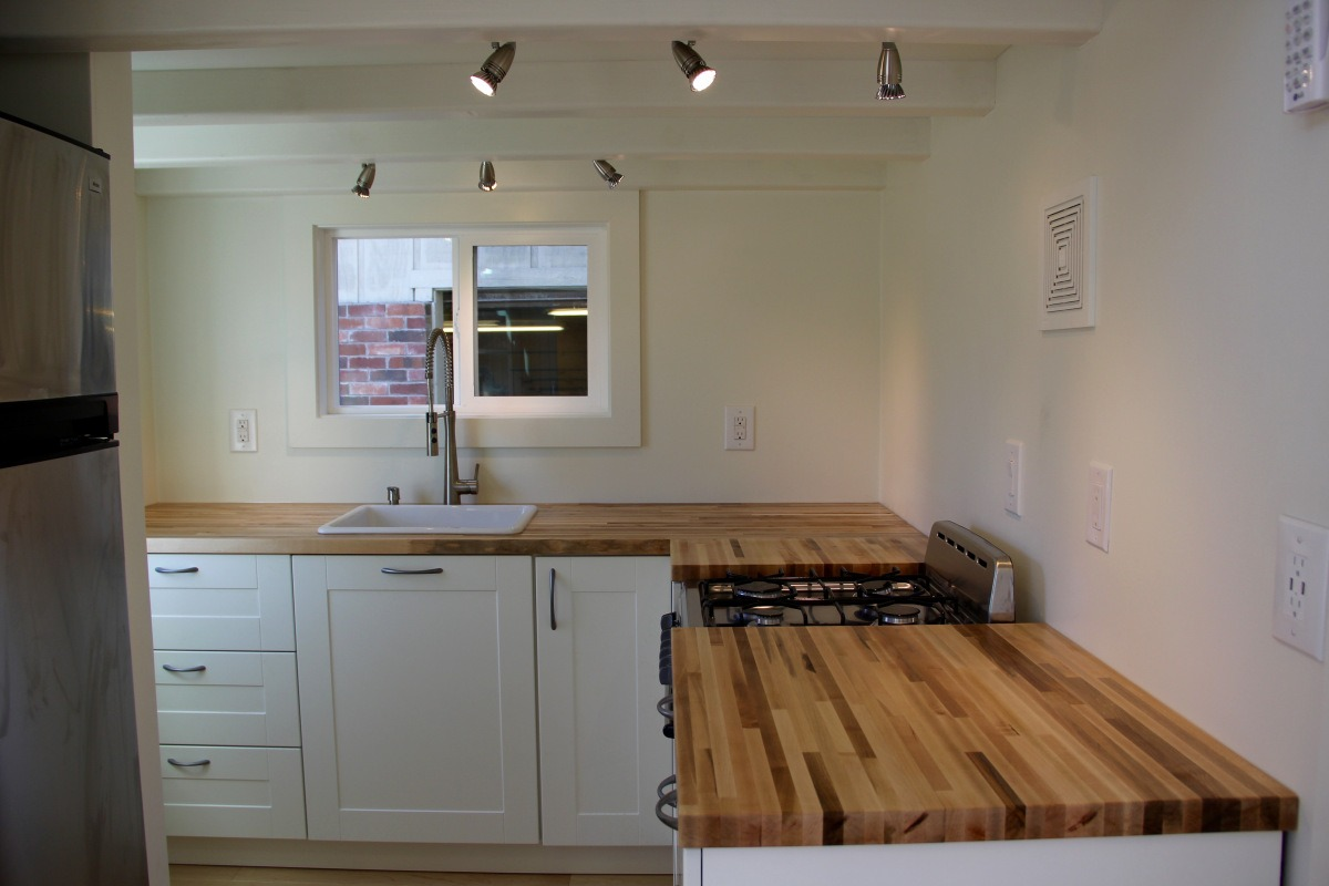 Kitchen - Chickadee by Brevard Tiny House
