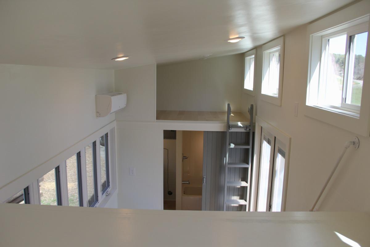Loft Areas - Chickadee by Brevard Tiny House