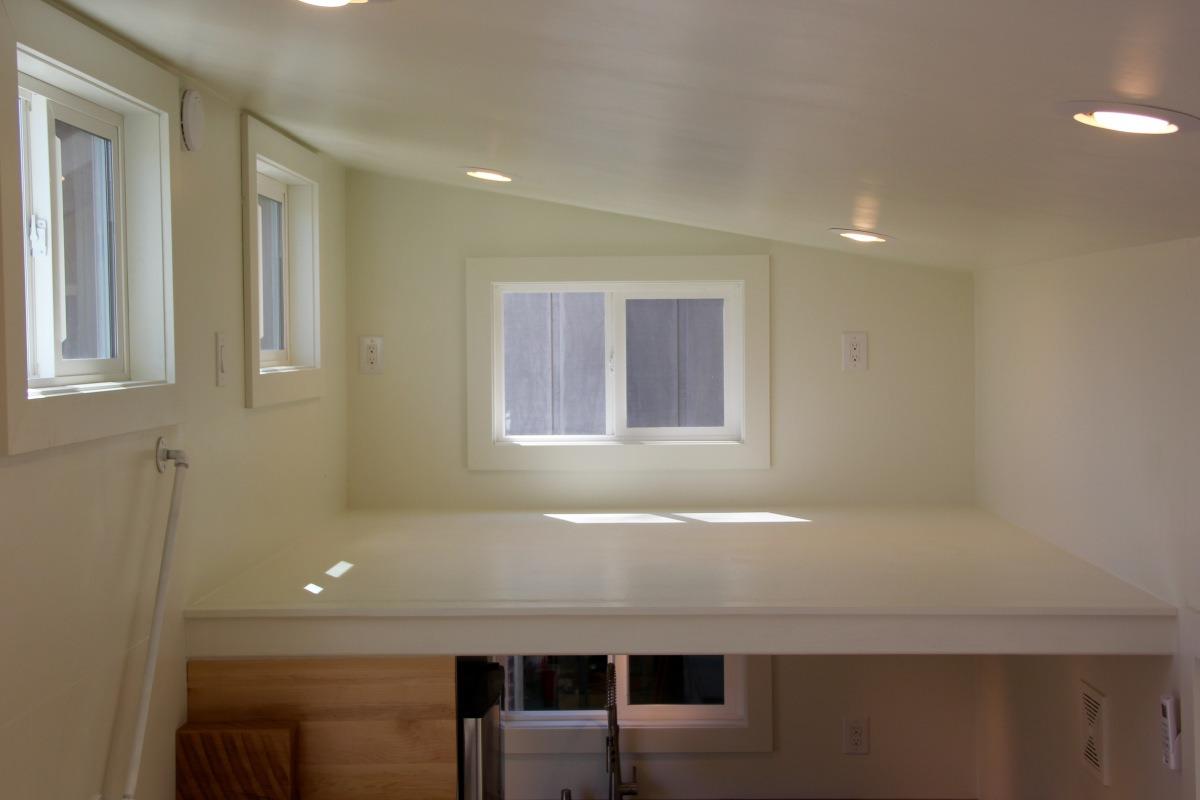 Bedroom Loft - Chickadee by Brevard Tiny House