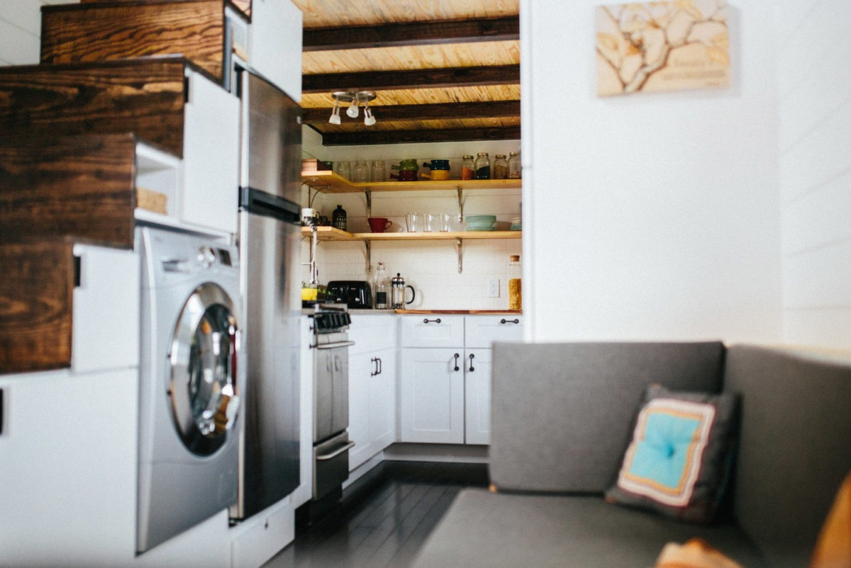 The chimera by wind river tiny homes tiny living for Tiny house washer dryer