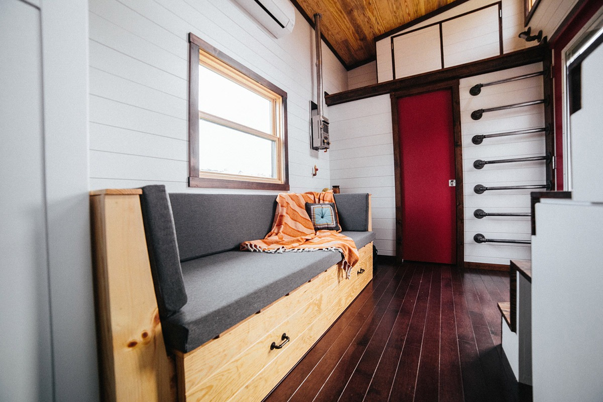 Living Room - Chimera by Wind River Tiny Homes