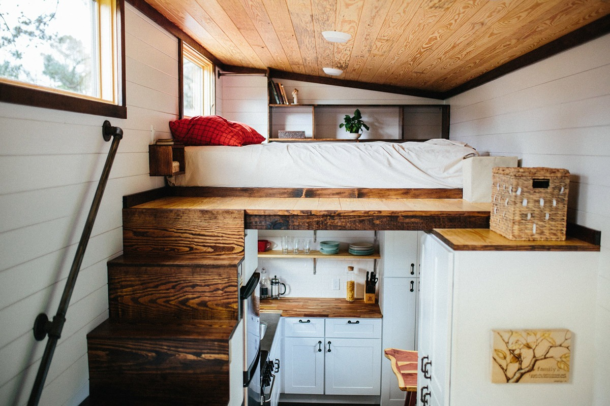 Bedroom Loft - Chimera by Wind River Tiny Homes