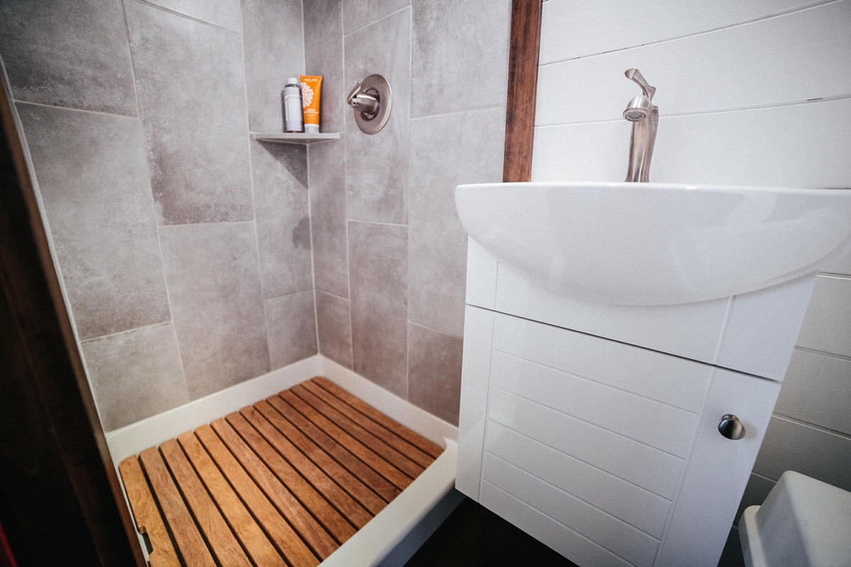 Bathroom - Chimera by Wind River Tiny Homes