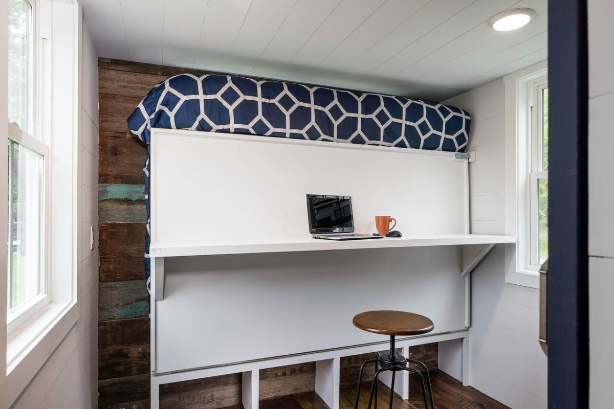 Murphy Bed with Desk - Indigo by Driftwood Homes