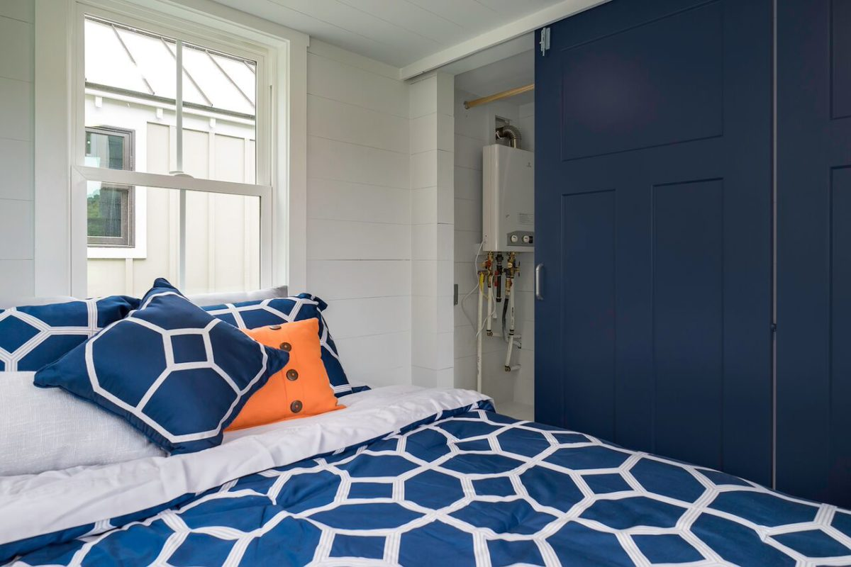 Main Floor Bedroom with Murphy Bed - Indigo by Driftwood Homes