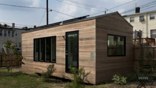 Exterior Front View - Minim Micro Homes