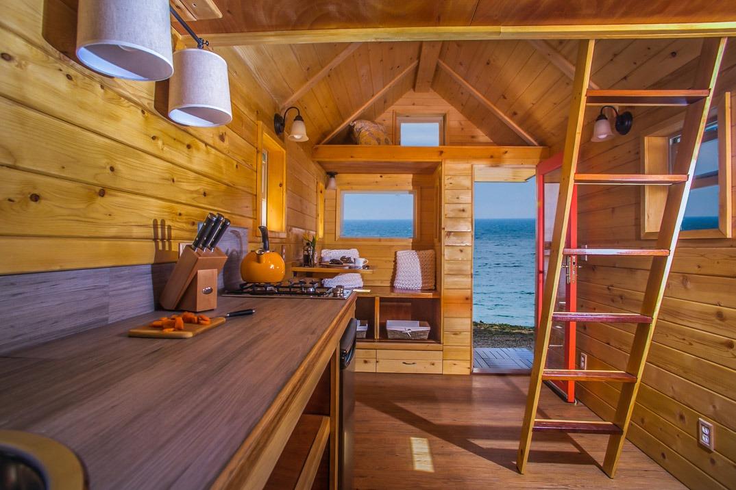 Interior View - Monarch Tiny Home