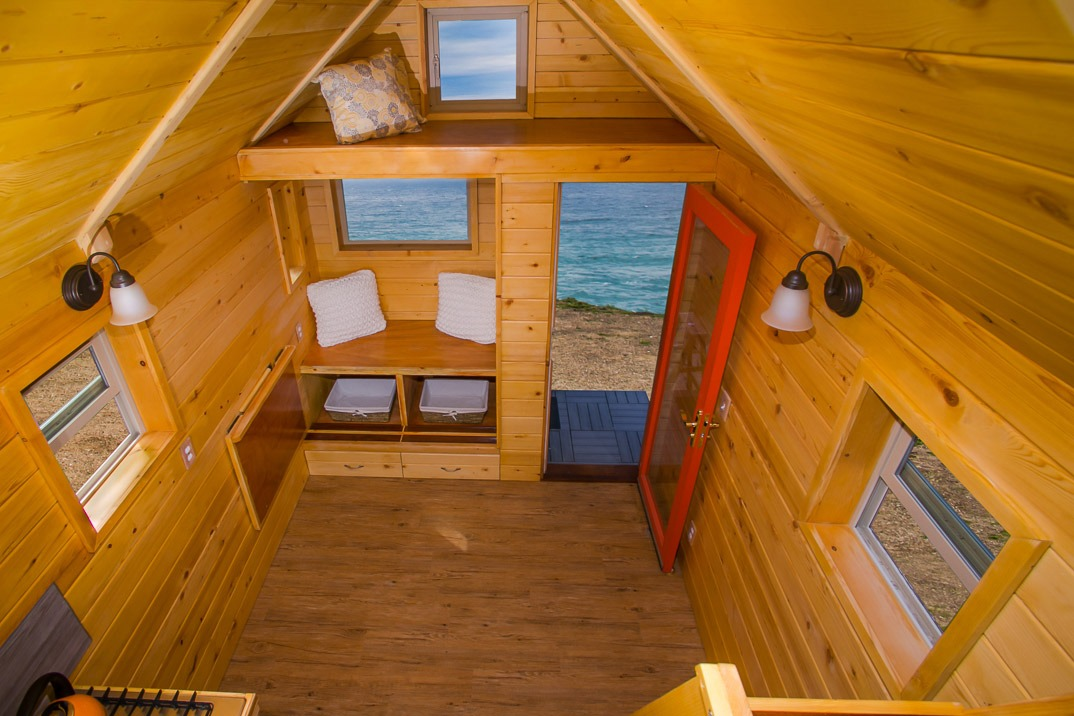 Aerial View - Monarch Tiny Home