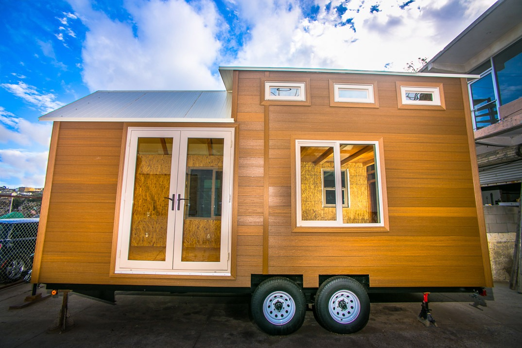 The 170 sq ft monarch tiny home tiny living for Monarch house