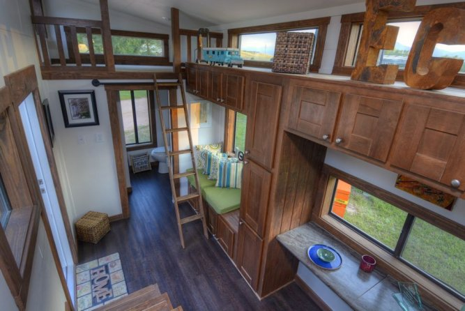 Interior View - Morrison hOMe by EcoCabins
