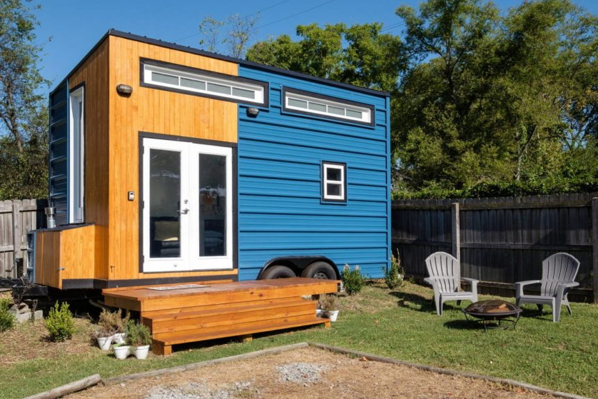 Exterior View - Nashville Tiny House