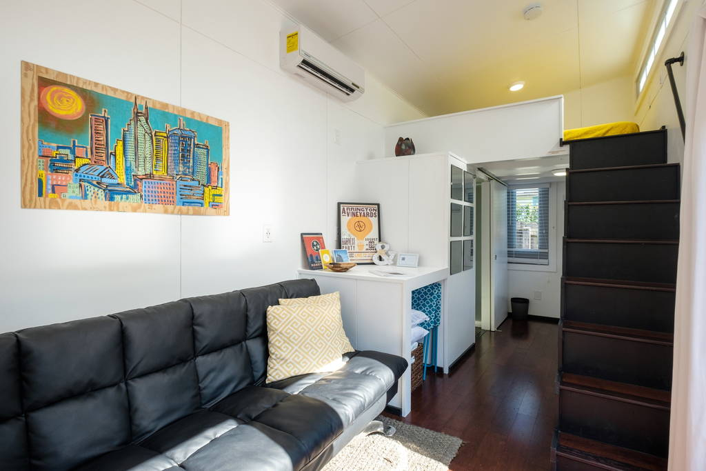 Interior View - Nashville Tiny House