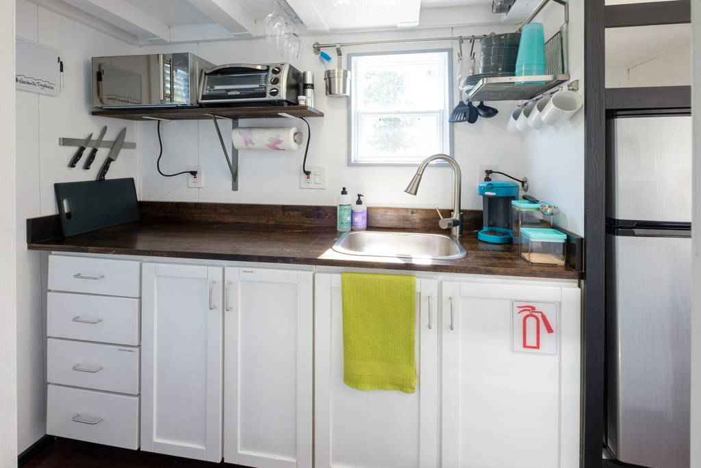 Kitchen - Nashville Tiny House