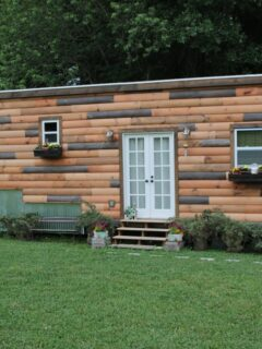 Exterior Front View - Nomad's Nest by Wind River Tiny Homes