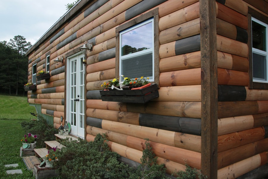 Exterior Detail View - Nomad's Nest by Wind River Tiny Homes