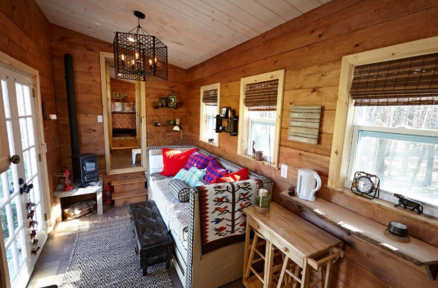 Interior View - Nomad's Nest by Wind River Tiny Homes