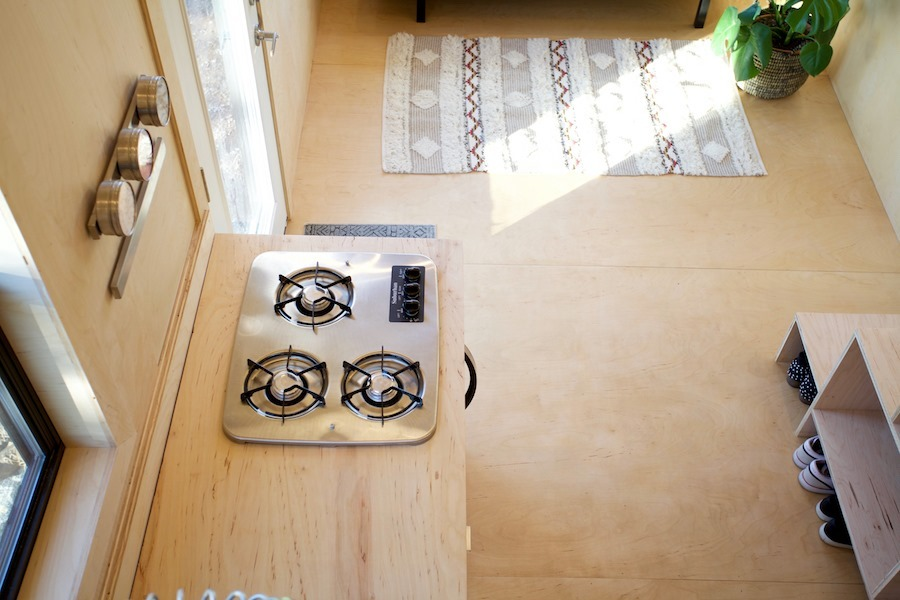 Cooktop - Nomad Tiny Home