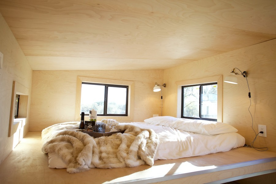 Bedroom Loft - Nomad Tiny Home