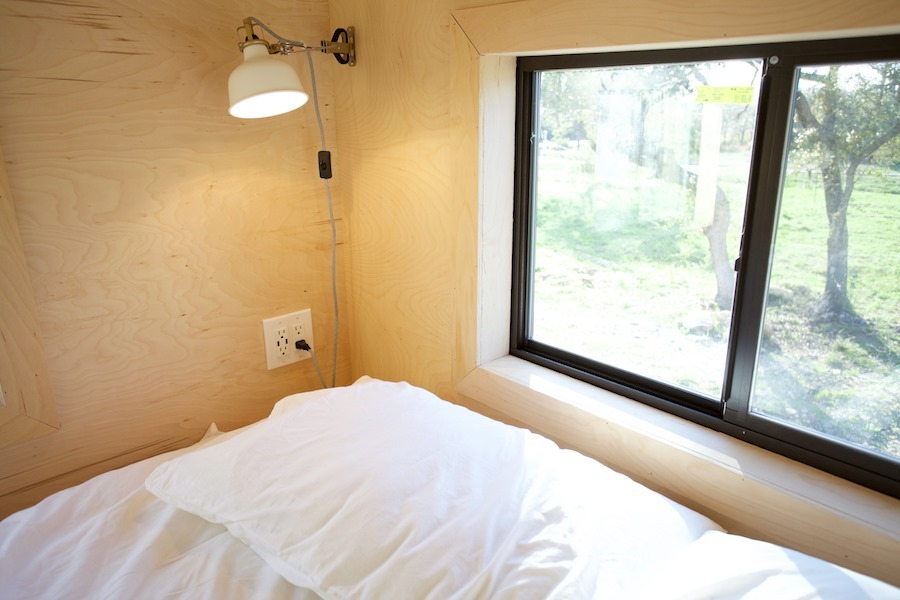 Bedroom Loft Window - Nomad Tiny Home
