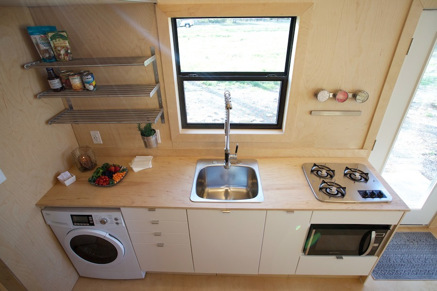 Kitchen - Nomad Tiny Home