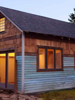 Exterior View - Rustic Modern Tiny House