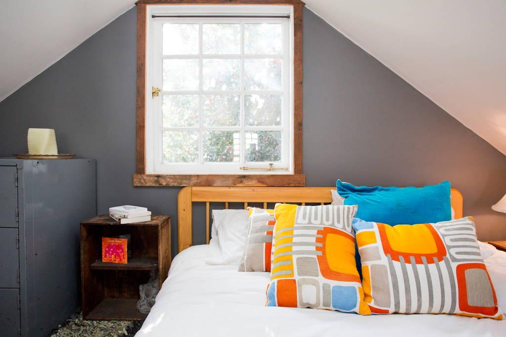 Bedroom Loft - Rustic Modern Tiny House