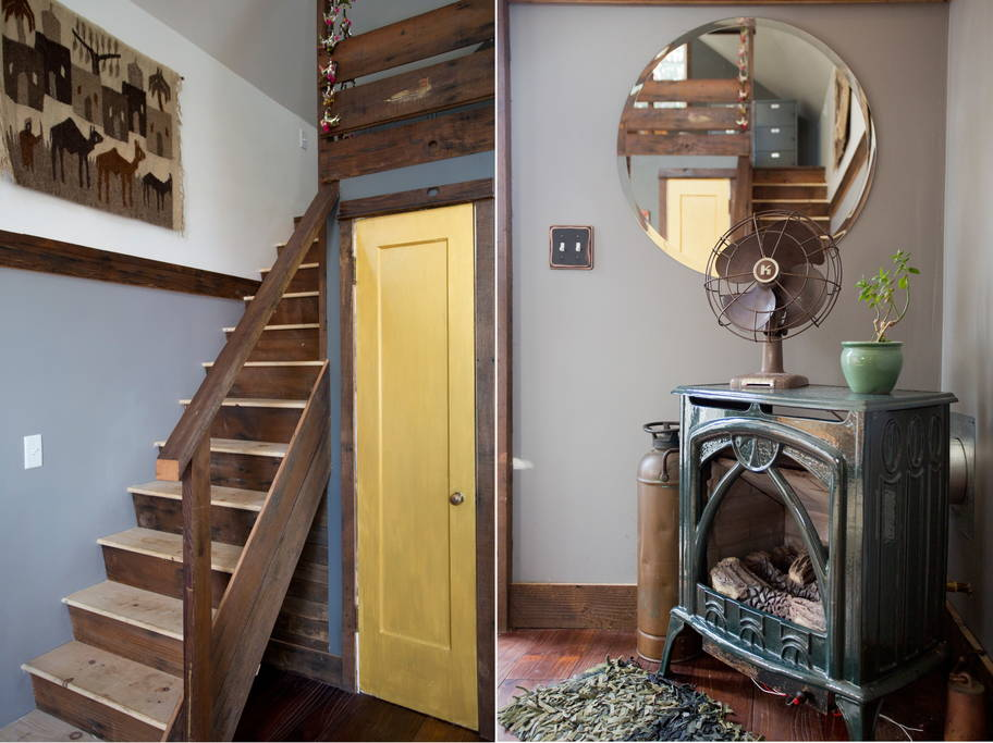 Stairs And Bathroom Door