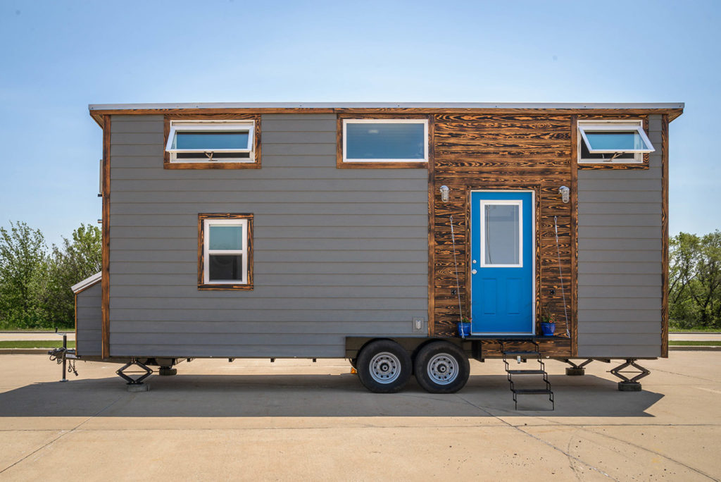 Exterior Front View - Triton by Wind River Tiny Homes