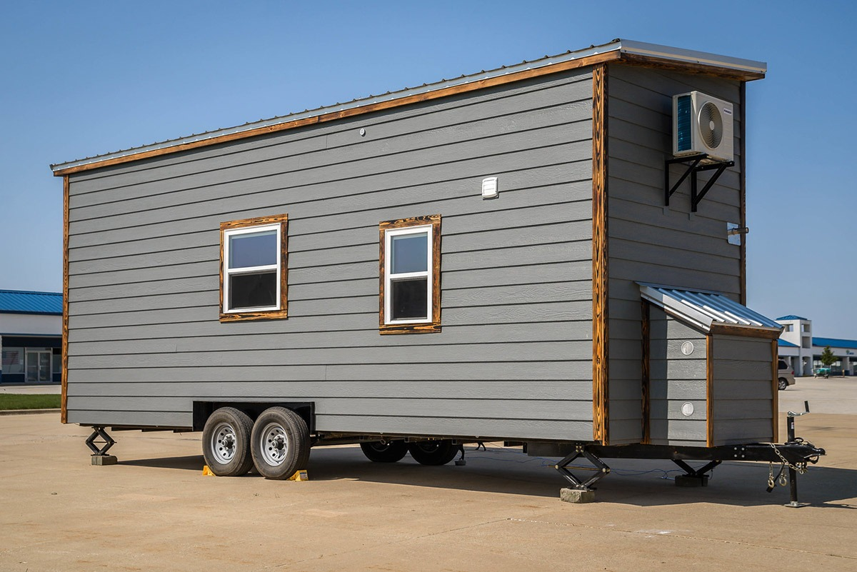Exterior Rear View - Triton by Wind River Tiny Homes