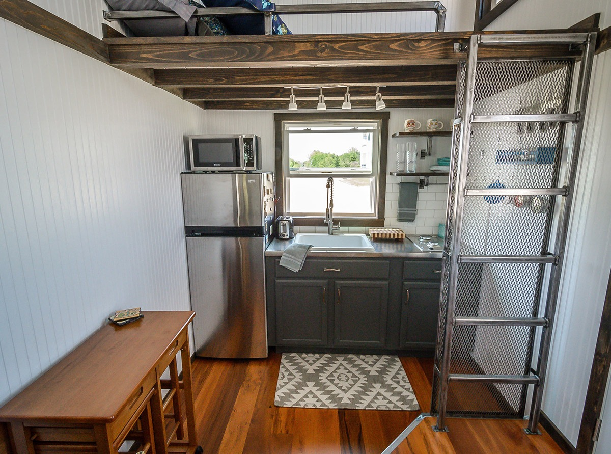 Kitchen - Triton by Wind River Tiny Homes