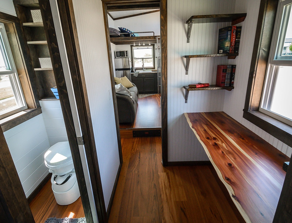 Home Office Area - Triton by Wind River Tiny Homes